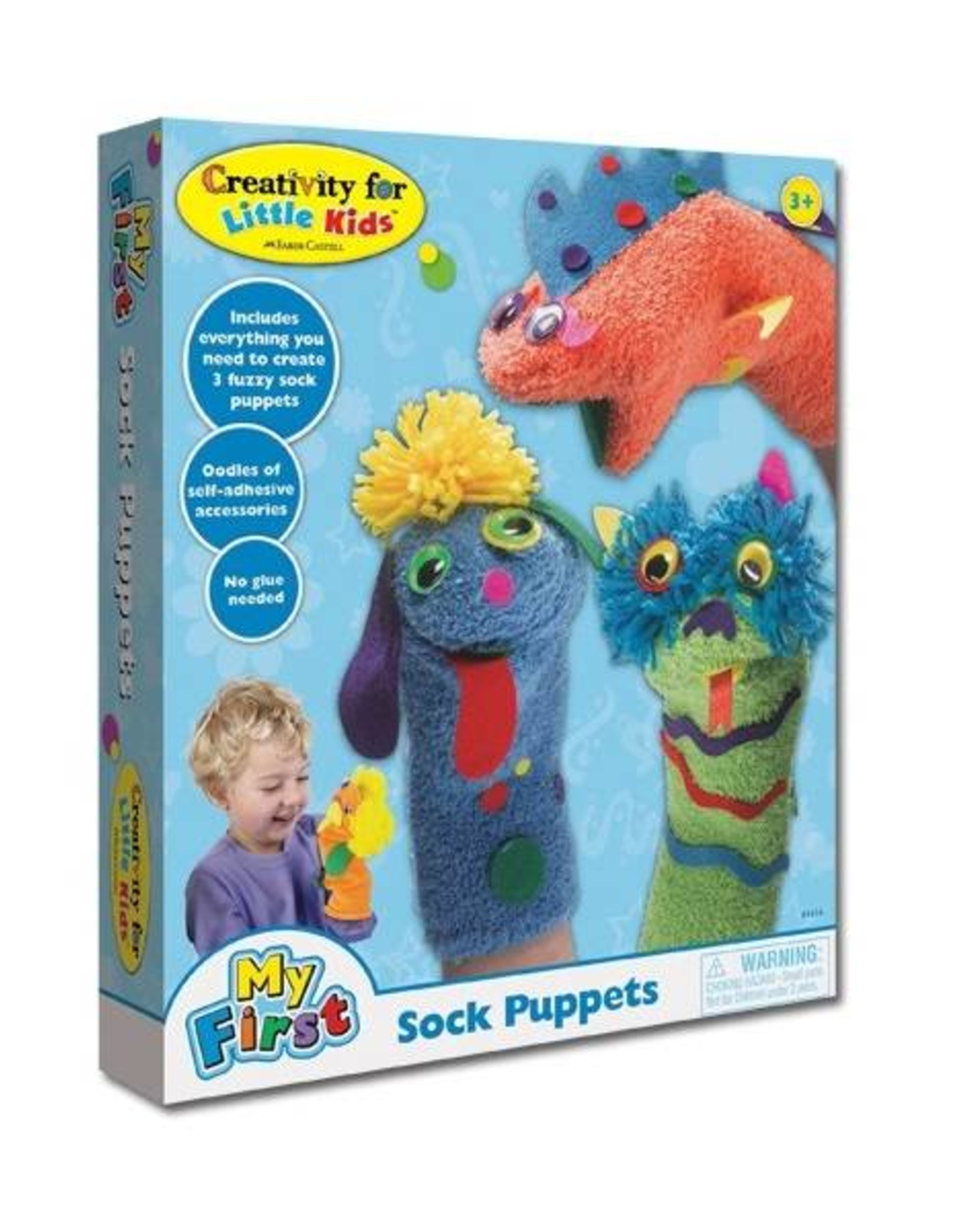 Faber Castell Make Your Own Sock Puppets