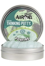 "Crazy Aaron's Putty Foxfire 4"" tin plus Blacklight Keychain"