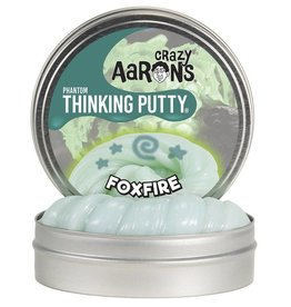 "Crazy Aaron's Putty Foxfire 4"" tin plus Blacklight Keychain"