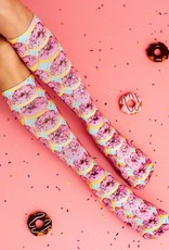 Living Royal PInk Donuts Knee High