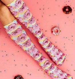 Living Royal PInk Donuts Knee High