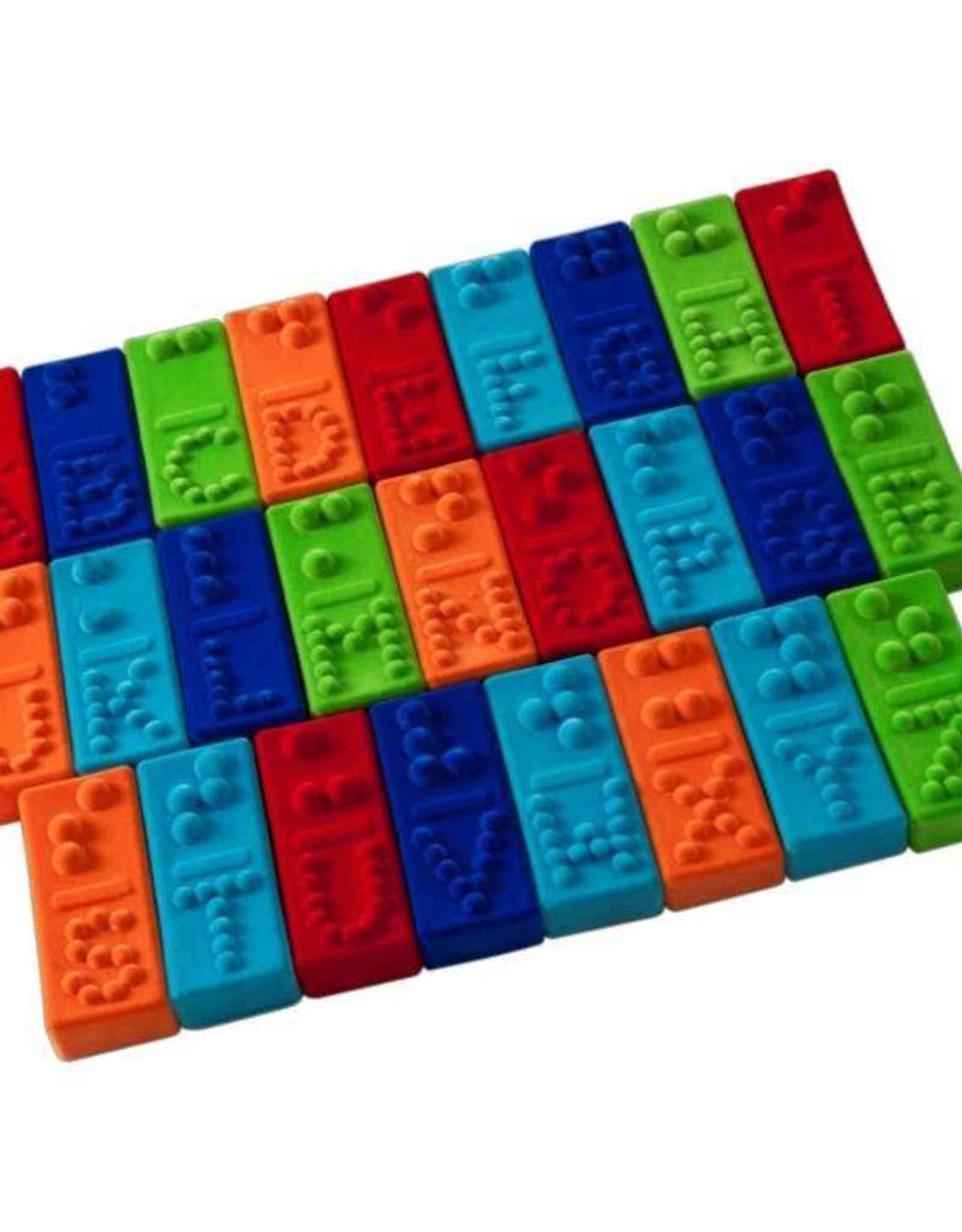 Rubbabu BRAILLE ALPHABET TILES