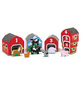 Melissa & Doug Nesting and Sorting Barns and Animals