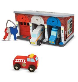 Melissa & Doug Keys and Cars Rescue Garage