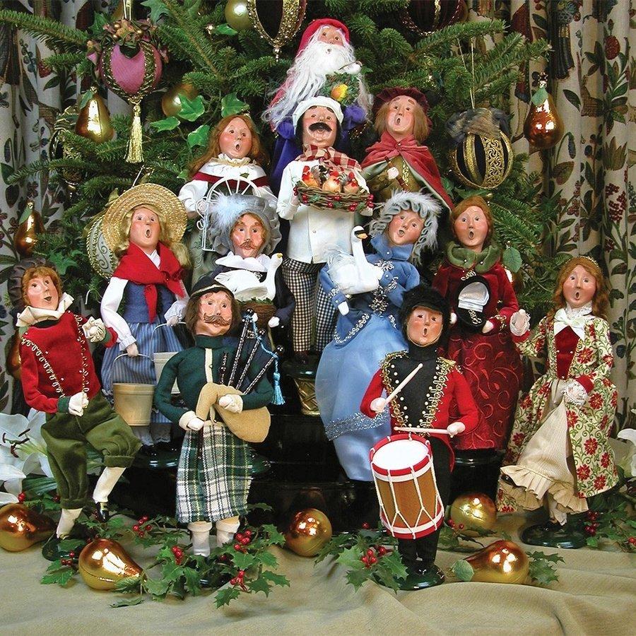 Byers' Choice Chanteurs de Noël