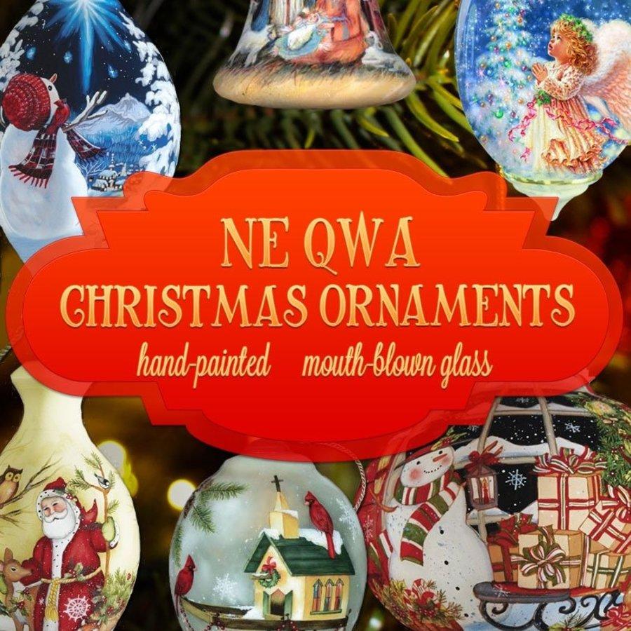 Ne'Qwa Art Reverse Inside painted Ornament
