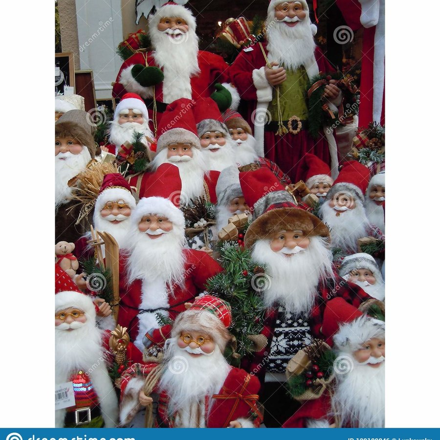 Santa Claus  Figurines Selection