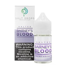 Salted Drops Barney's Blood by Salt Drops