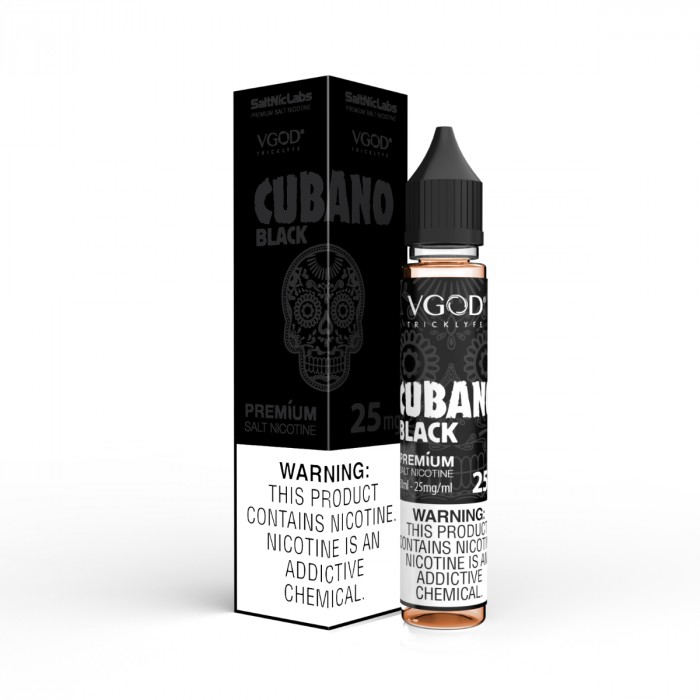 VGOD Cubano Black by SaltNic