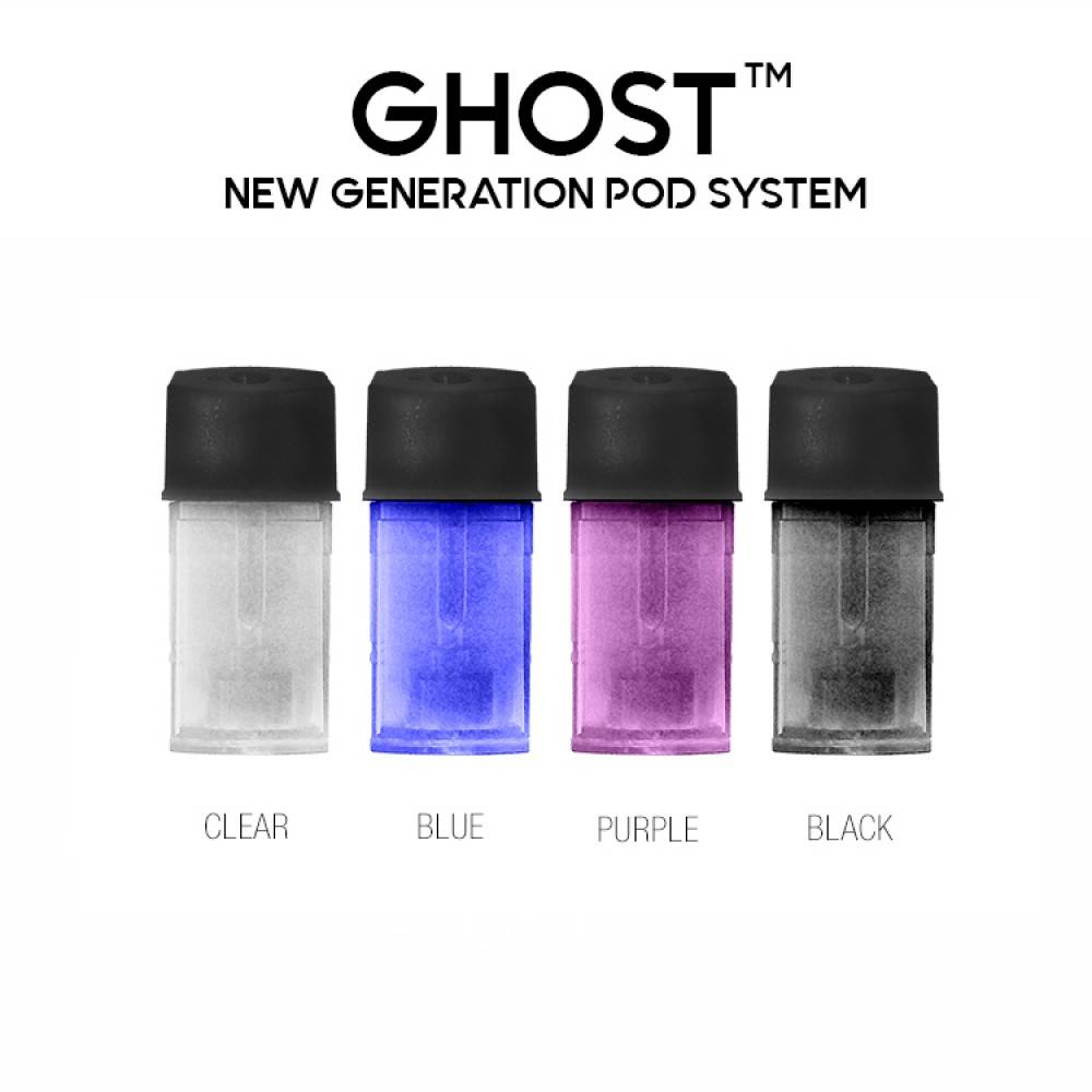 Ghost Pods Refillable Cartridges 3 Pack