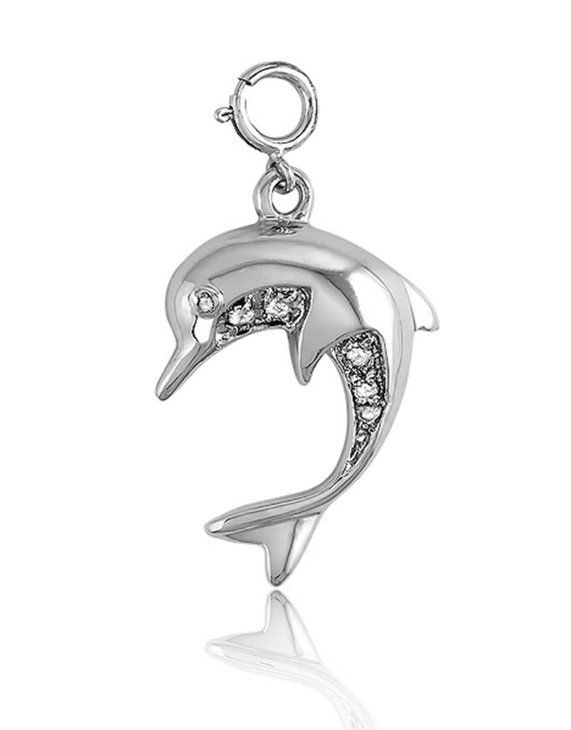 CZ Dolphin Charm 21mm