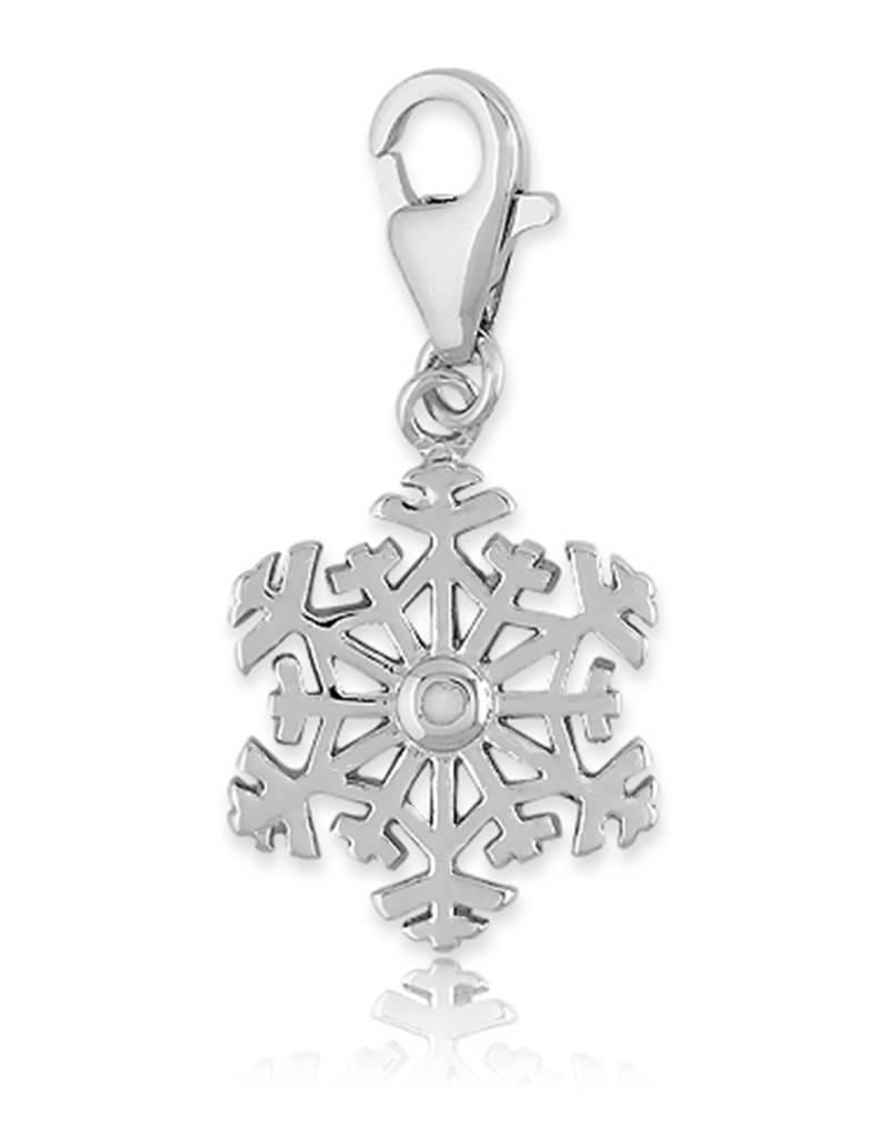 Snowflake Diamond Charm