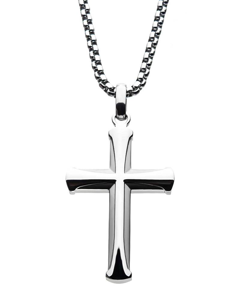 Apostle Cross Necklace 24""
