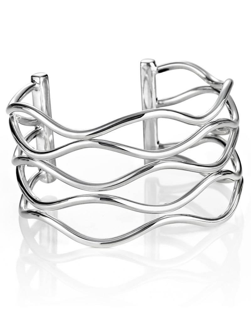 ZINA Zina Wavy Wire Cuff Bracelet