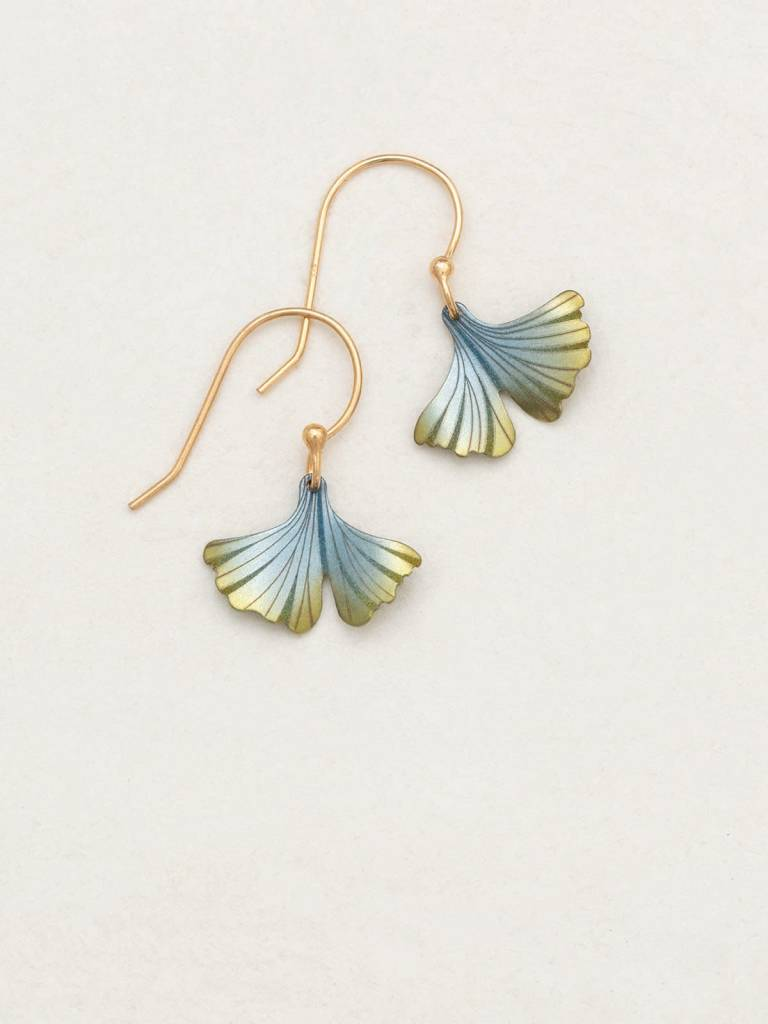 HOLLY YASHI Sage Petite Ginkgo Earrings *17263