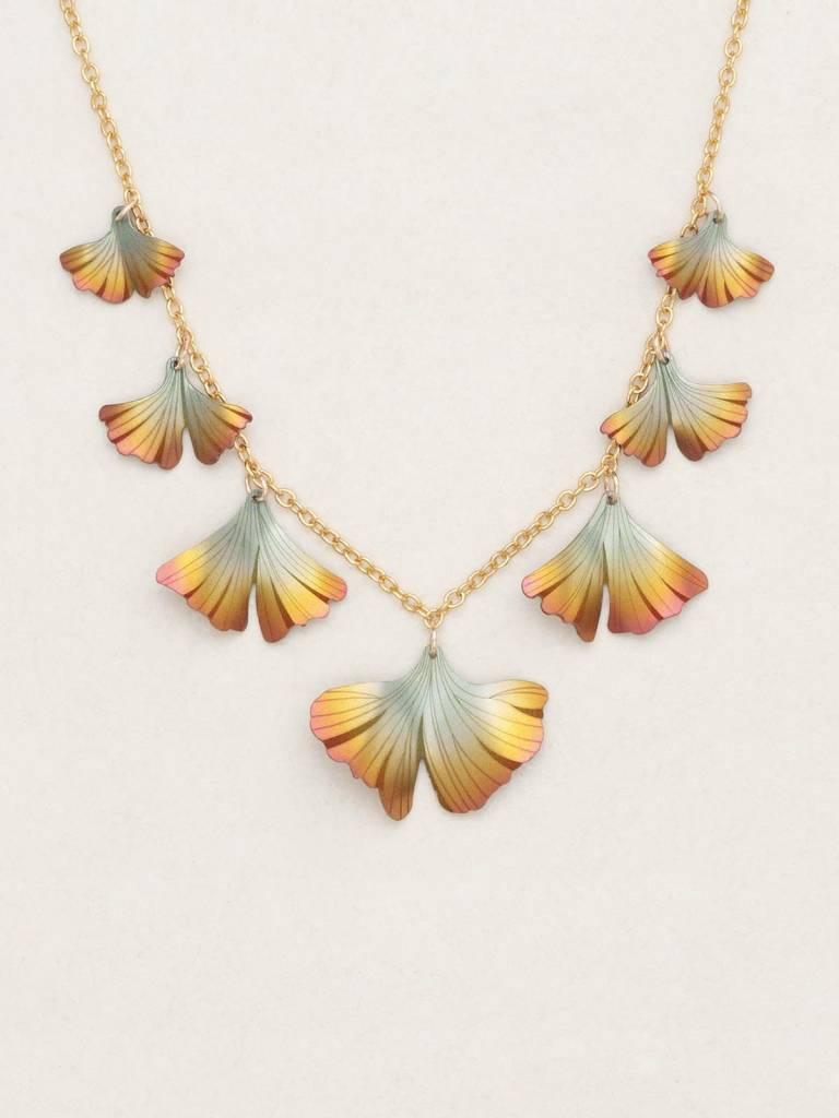 HOLLY YASHI Peach Ginkgo Classic Necklace *17244