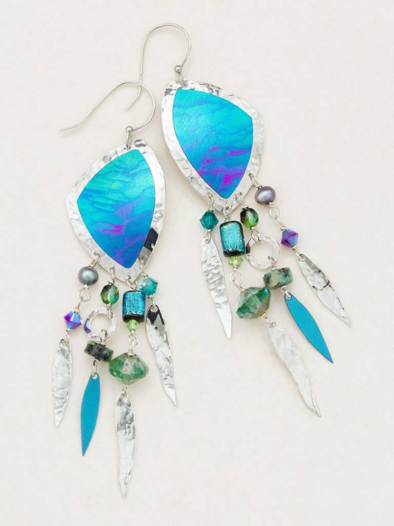 HOLLY YASHI Capri Skies Drop Earrings *12613