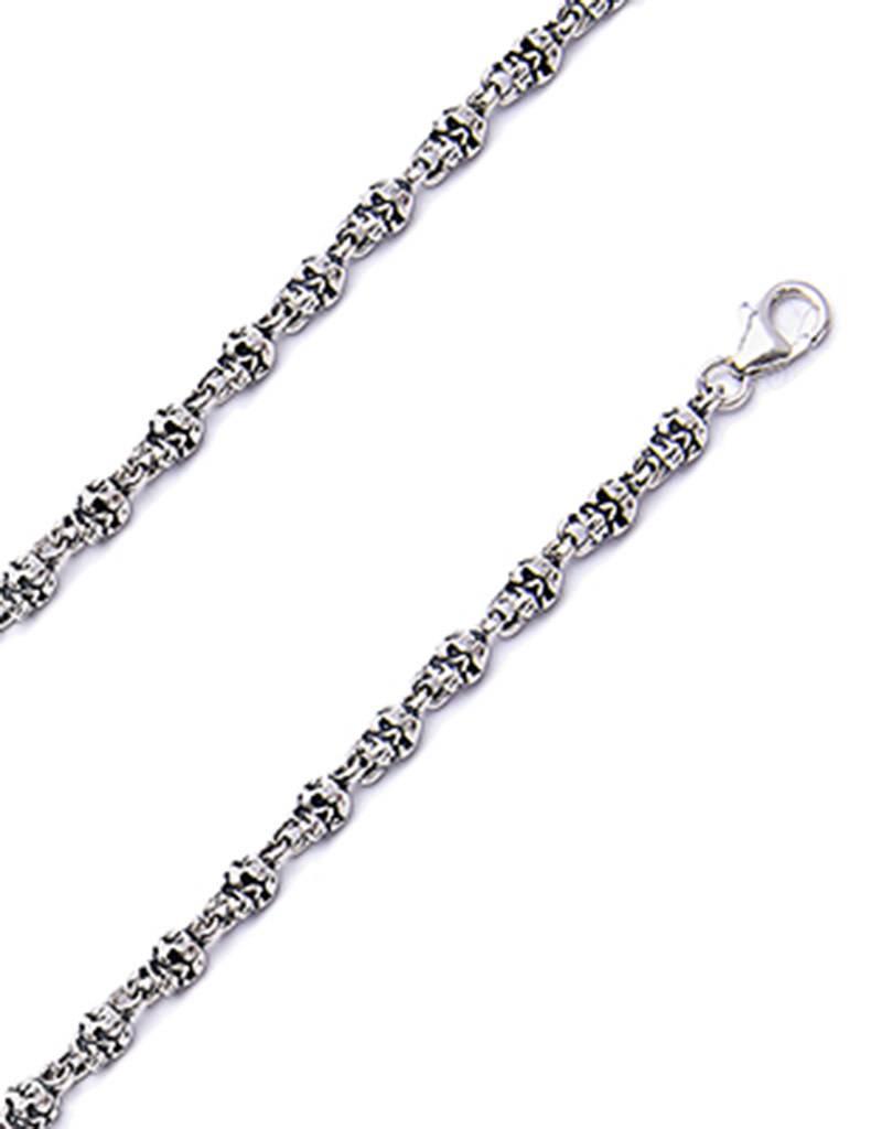 Skull Link Necklace