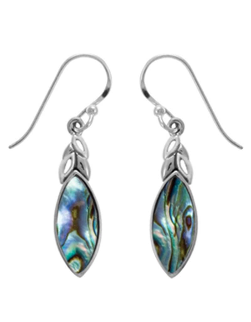 Abalone Earrings 22mm