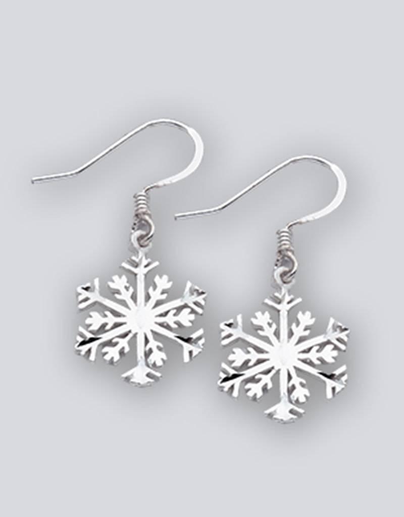 Snowflake Earrings 16mm