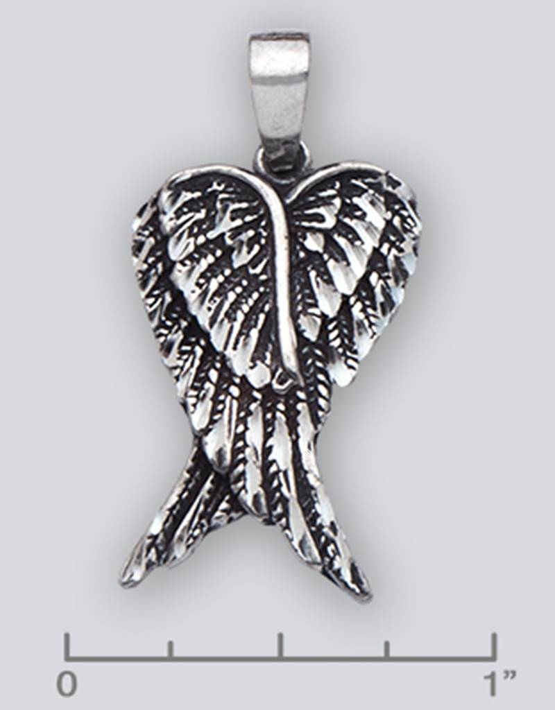 Double Wing Pendant 28mm