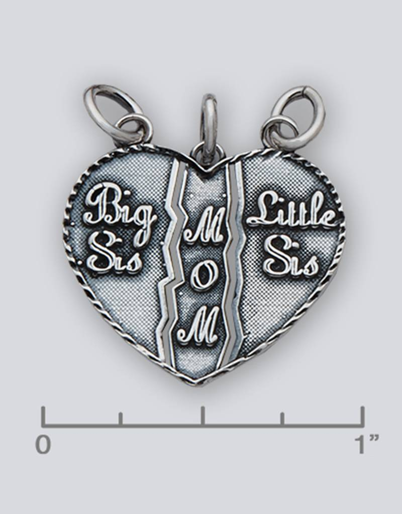 Sisters/Mom Pendant 24mm