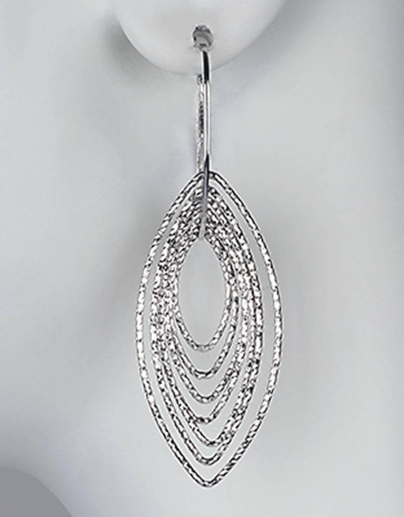AZU Multi Marquise Ring Earrings