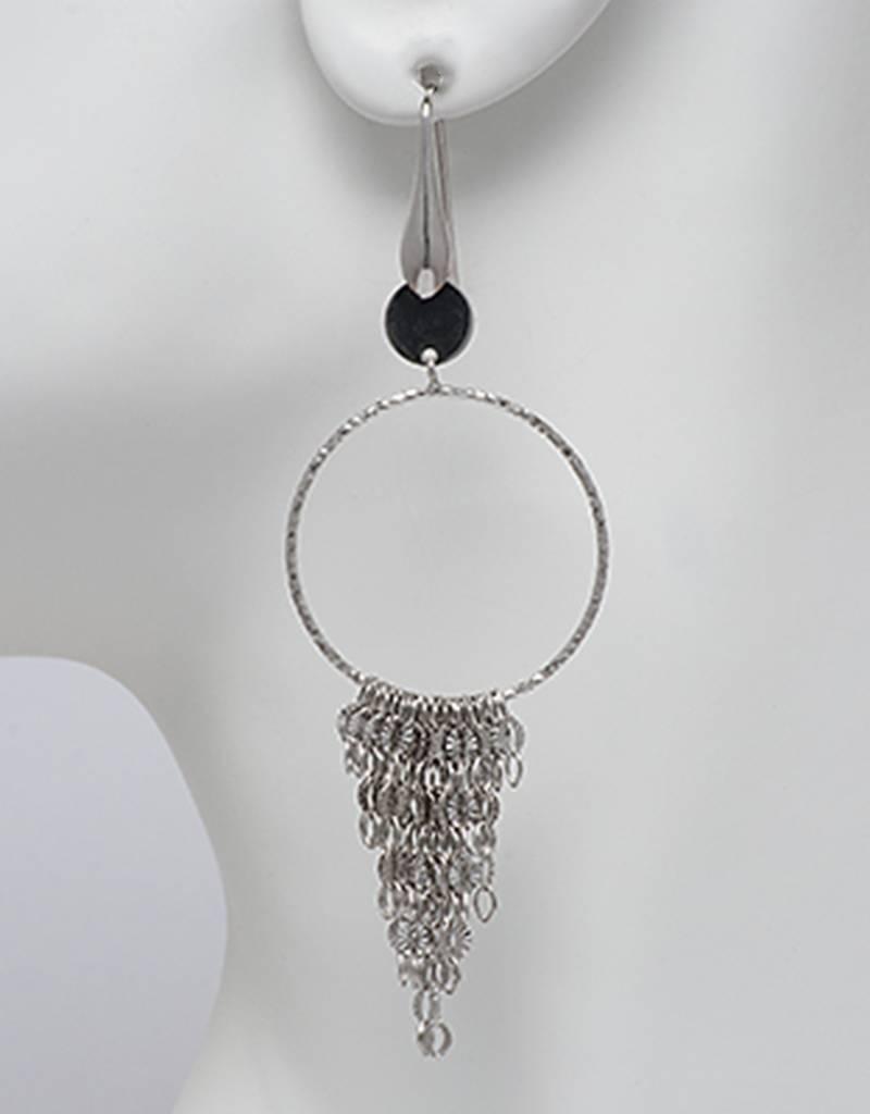 Ring w/ Dangles Earrings 85mm