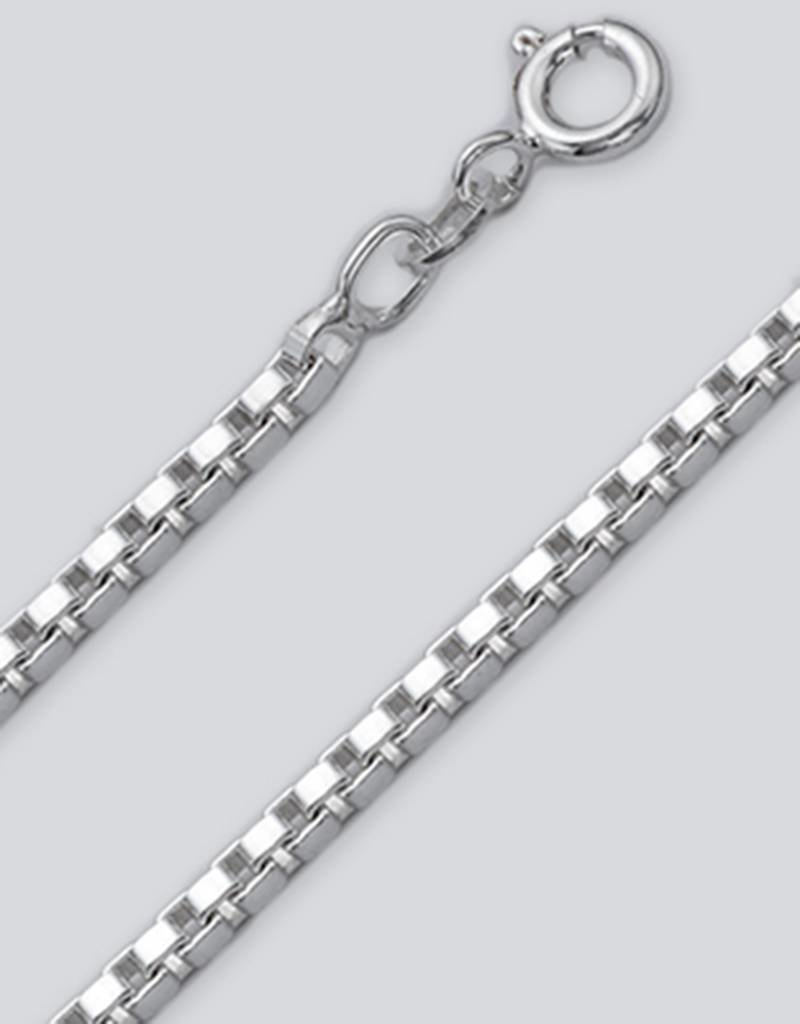 Sterling Silver Box 045 Chain Necklace