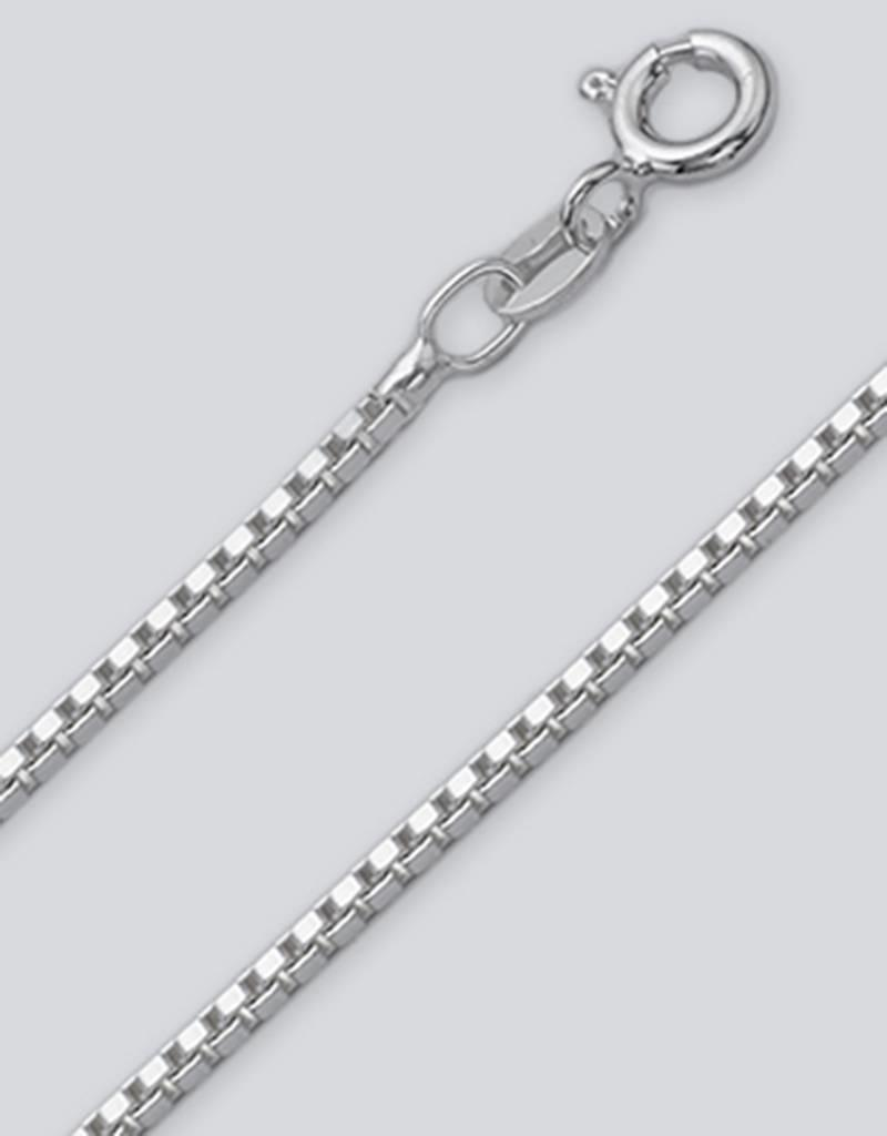 Sterling Silver Box 030 Chain Necklace