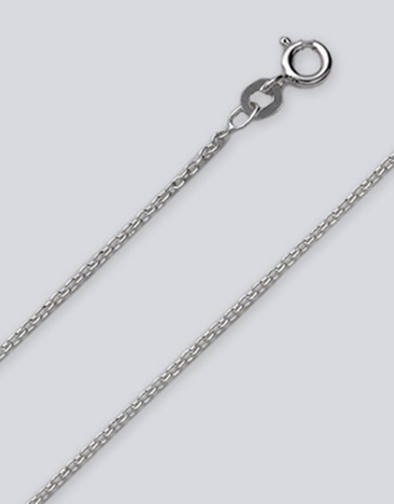 Sterling Silver Cable 035 Chain Necklace