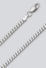Sterling Silver Curb 080 Chain Necklace