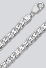 Sterling Silver Curb 250 Bracelet