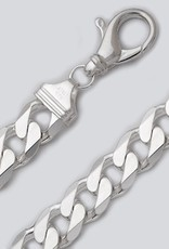 Sterling Silver Curb 400 Chain Bracelet