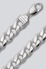 Sterling Silver Curb 350 Chain Bracelet