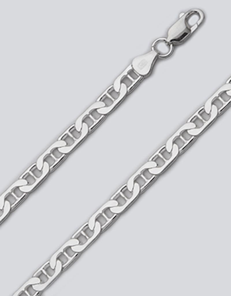 Sterling Silver Flat Marina 150 Chain Necklace