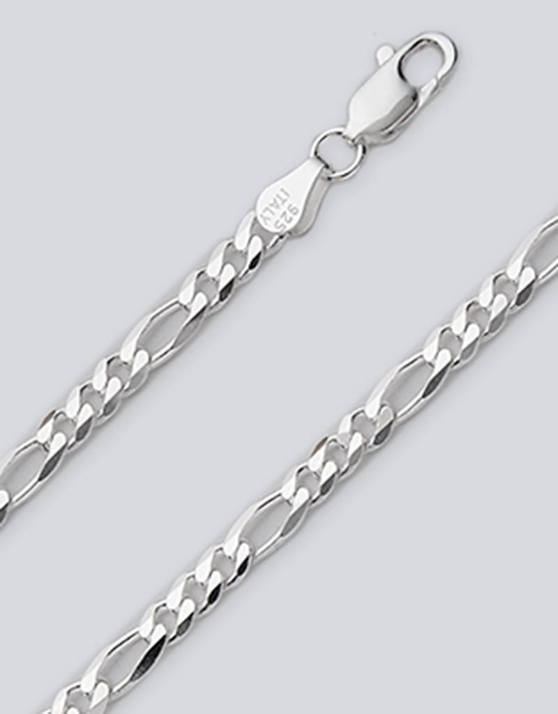 "Figaro 100 Bracelet 8"""