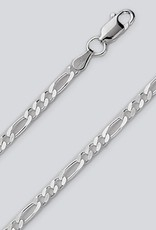 Sterling Silver Figaro 080 Chain Necklace