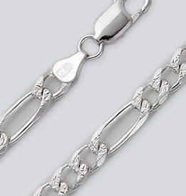 """Pave Figaro 180 Bracelet 8"""""""