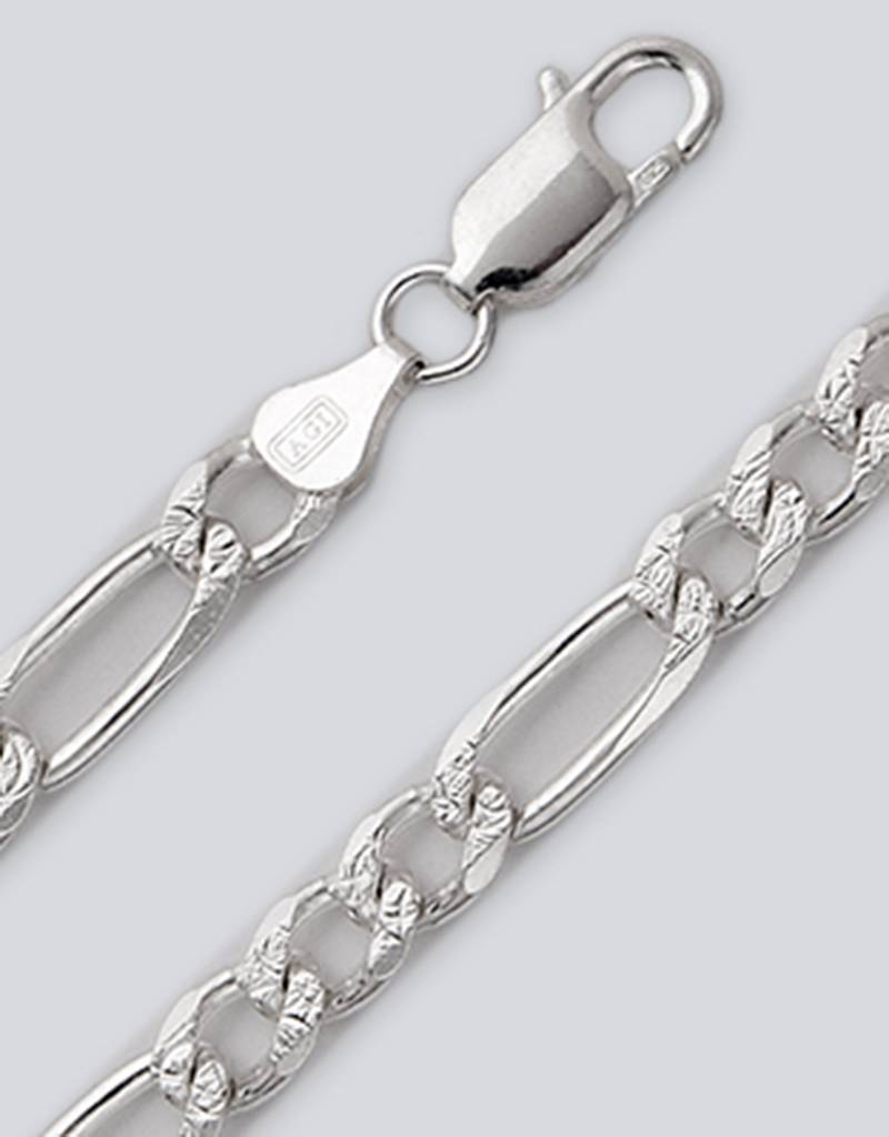 Pave Figaro 180 Necklace 24""