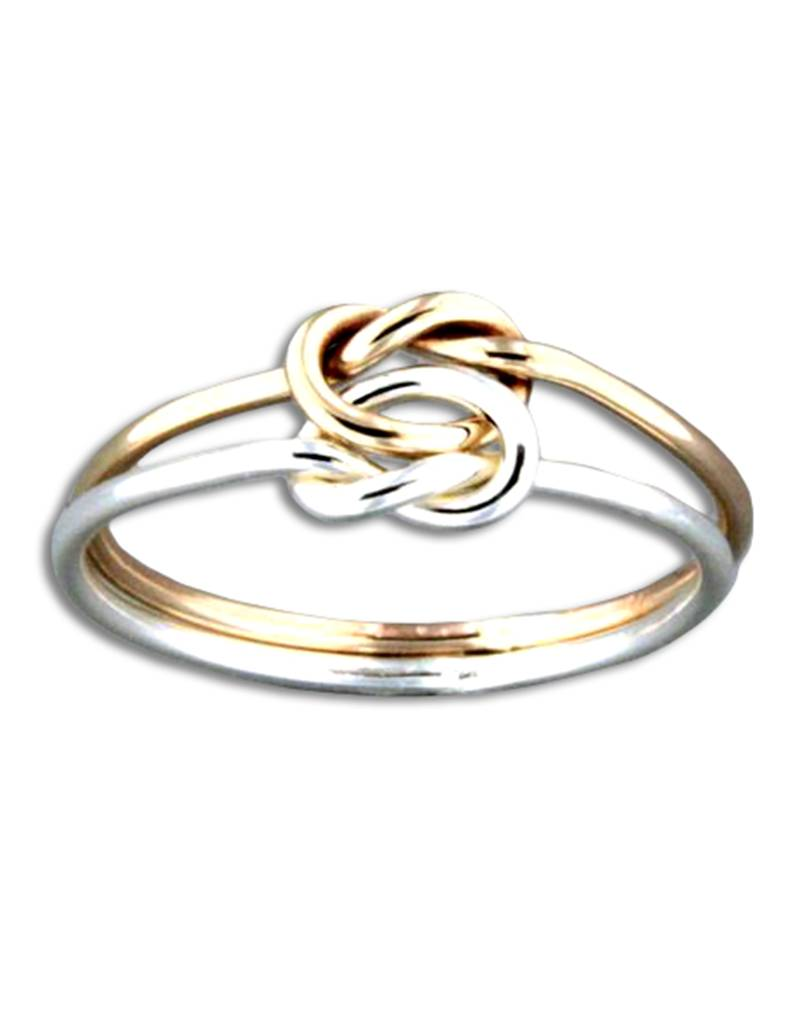 Double Knot SS/GF Ring