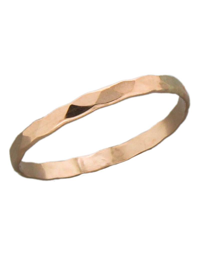 1.8mm Rose Gold Filled Band Ring