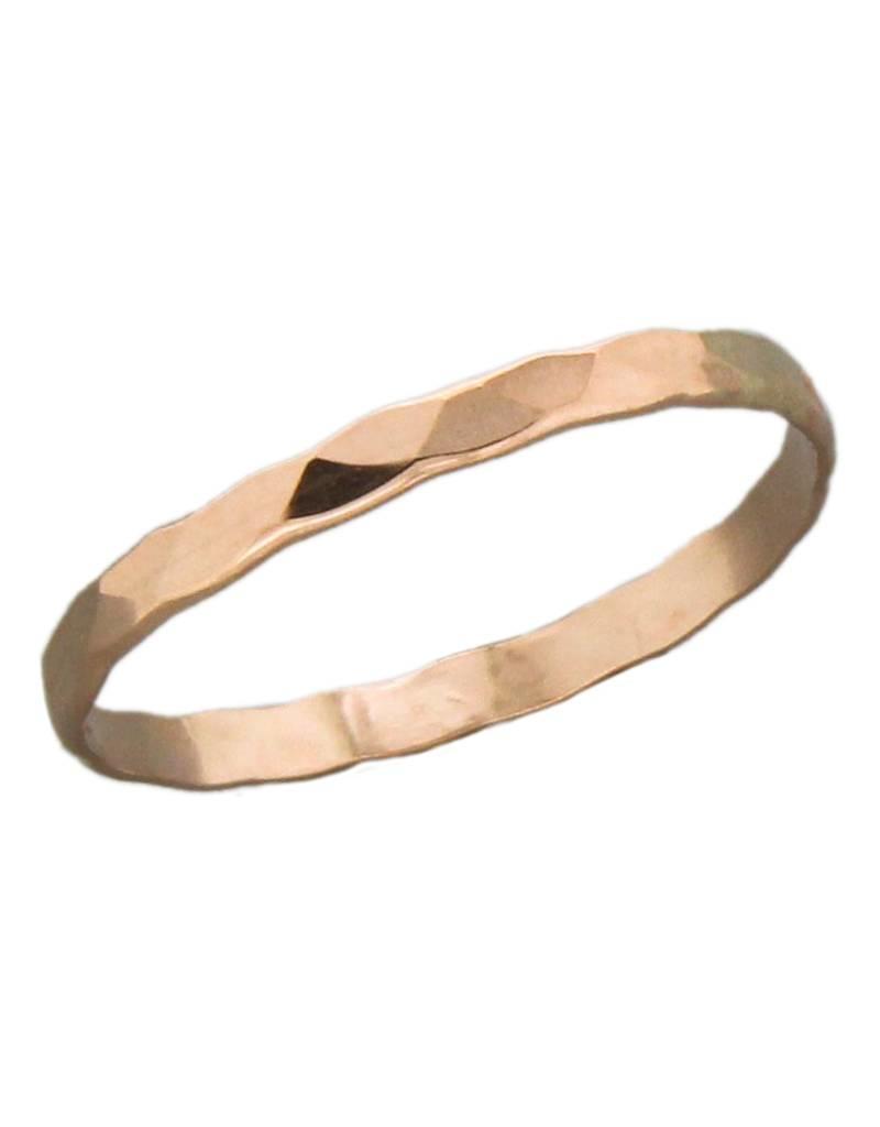 14k Rose Gold Filled 1.8mm Band Ring