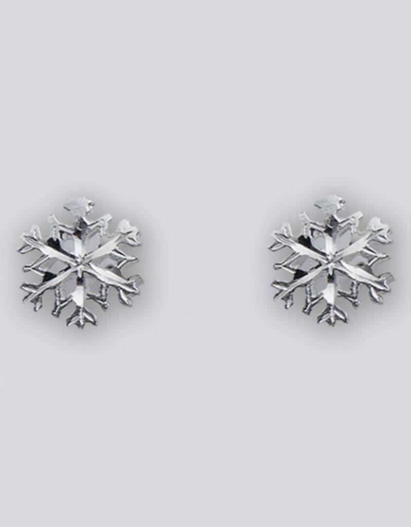 Snowflake Post Earrings