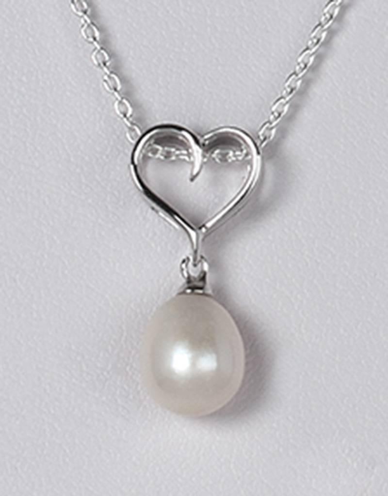 Heart Pearl Pendant