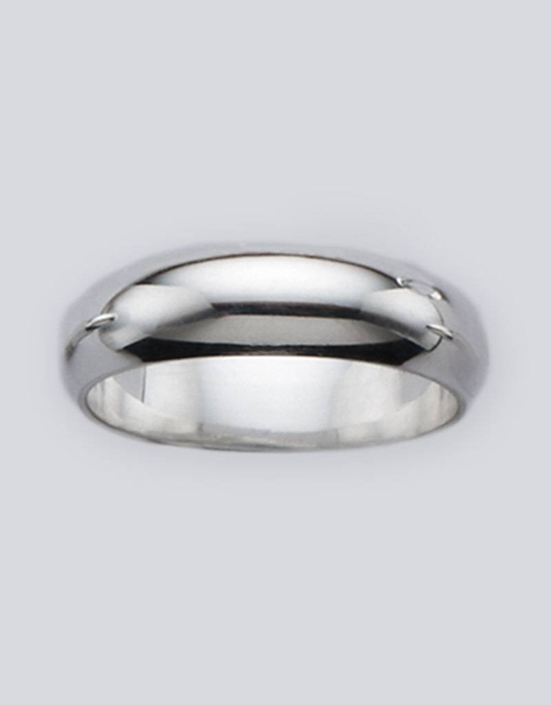 6mm Plain Band Ring