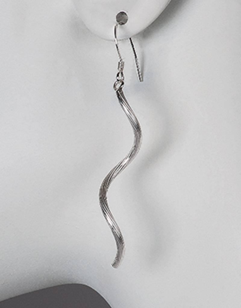 Corkscrew Spiral Earrings 52mm