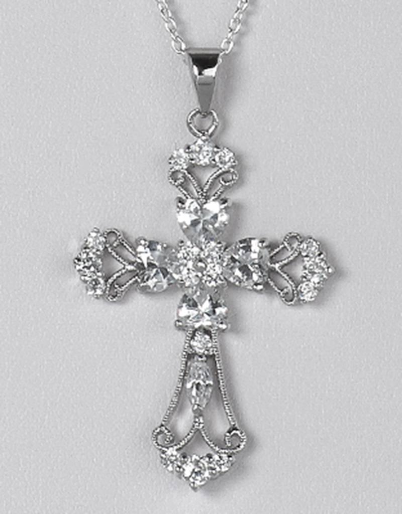 Cross CZ Pendant