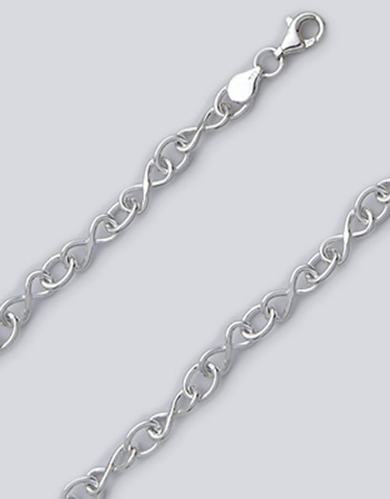 "Infinity Link Bracelet 7"""