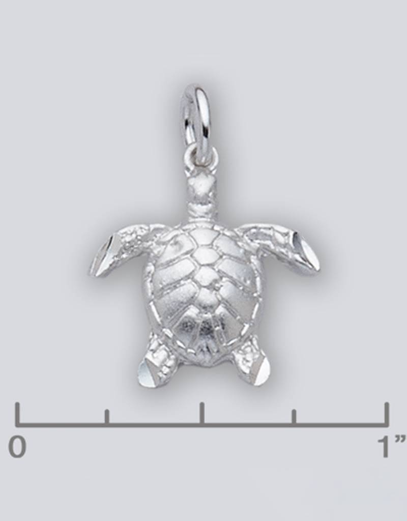 AZU Sea Turtle Charm 18mm